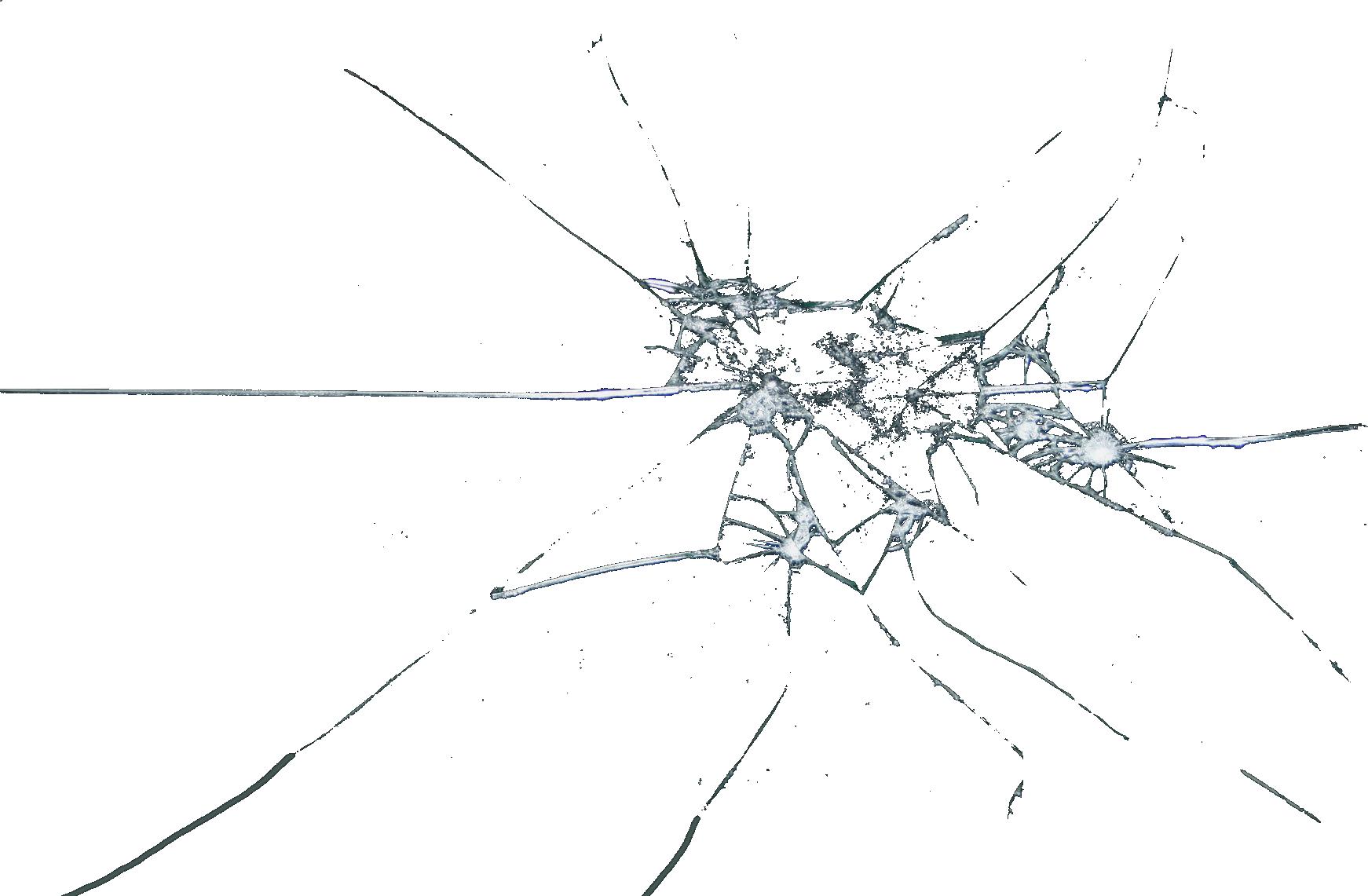 Cracked glass png. Window transparency and translucency