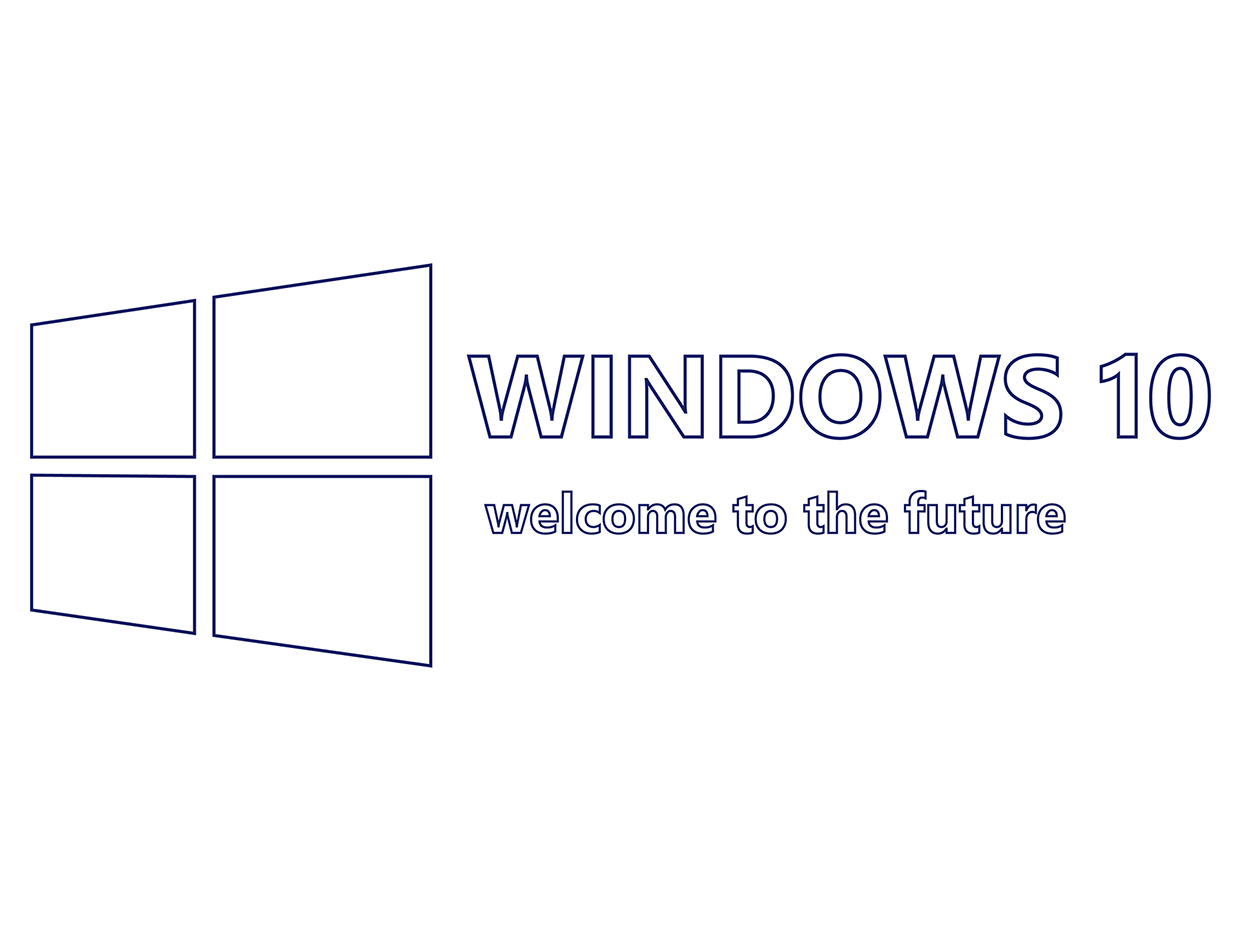 Windows 10 logo png white. For mobile is here