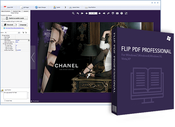 Windows 10 convert png to pdf. Flip professional flipbook and