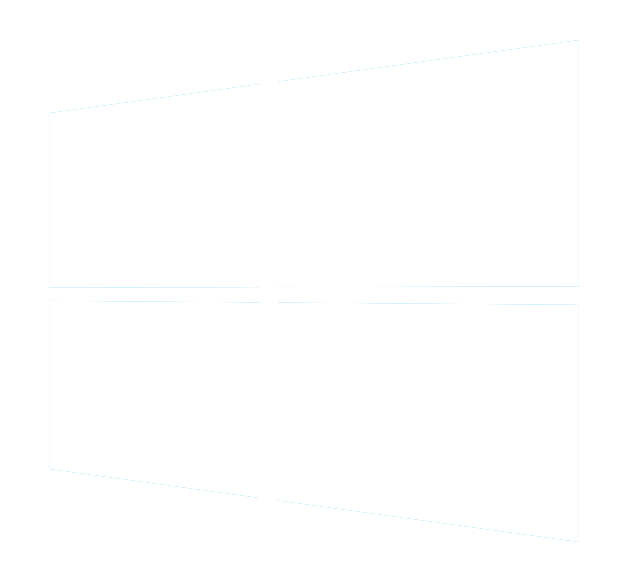 Windows 10 logo png white. Solo render by taringamemes