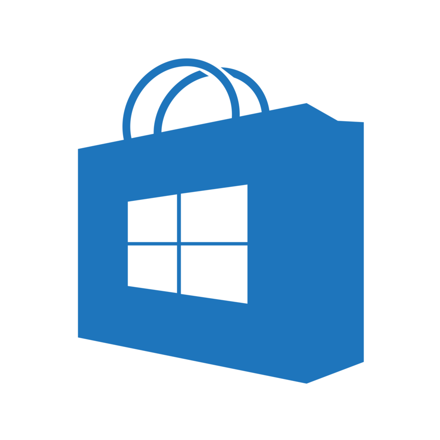 Windows 10 png icon. Preview of the new