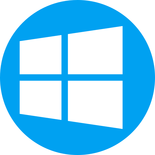 Windows 10 png icon. Smooth ico