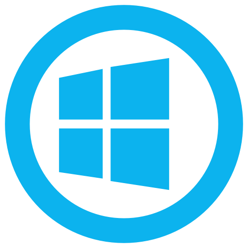 Windows 10 png icon. Microsoft glyph page ico