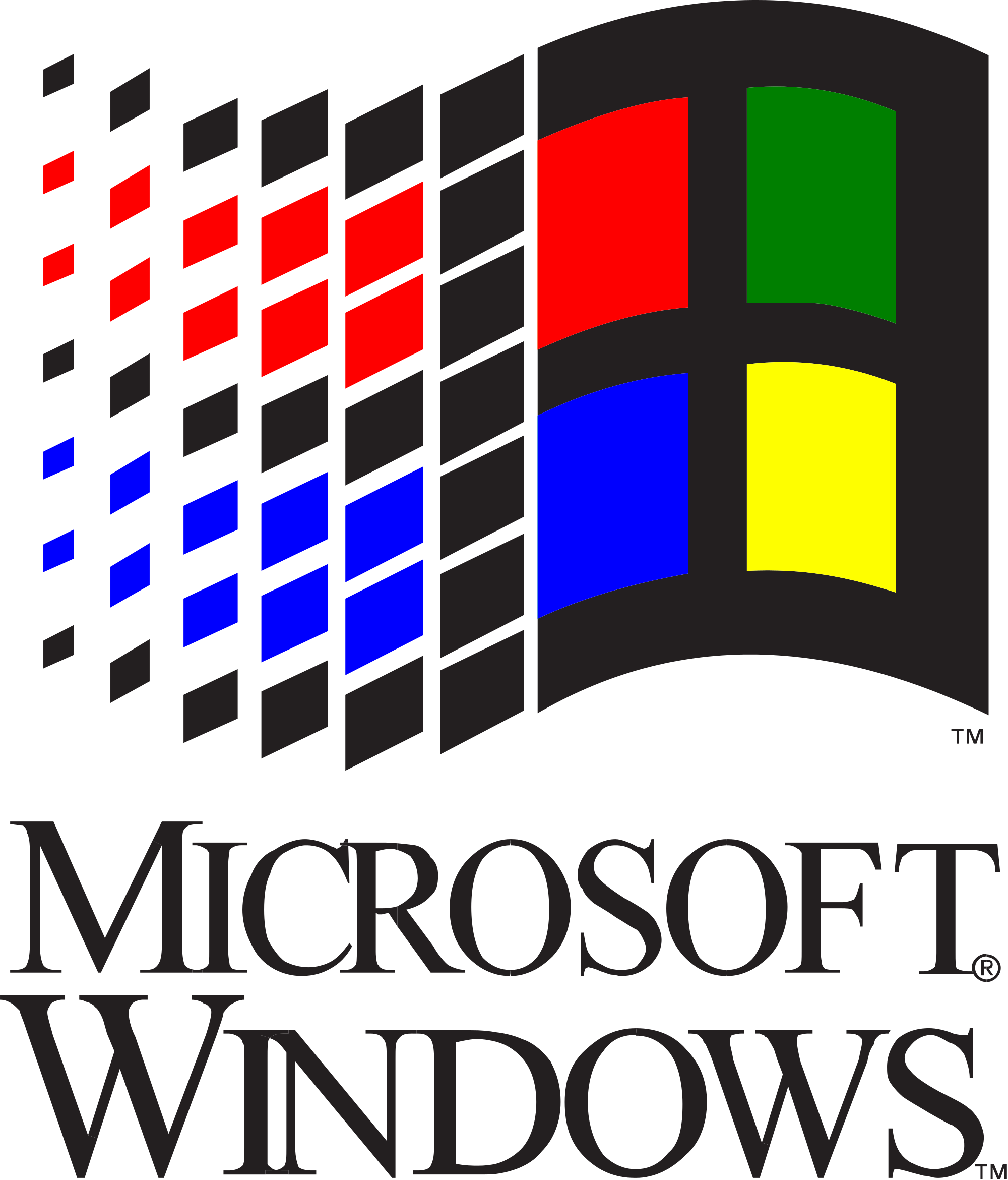 Windows 3.1 logo png. Image px microsoft and