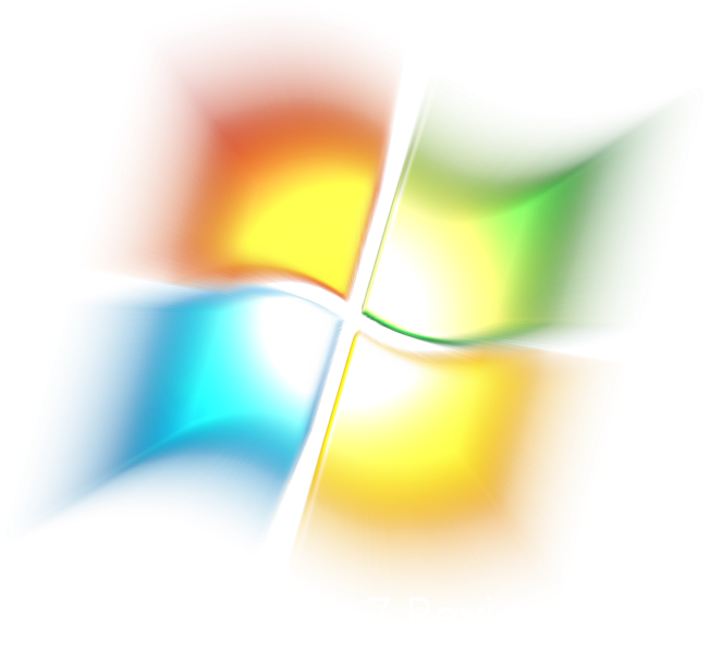 Windows 7 png logo. How to format easy