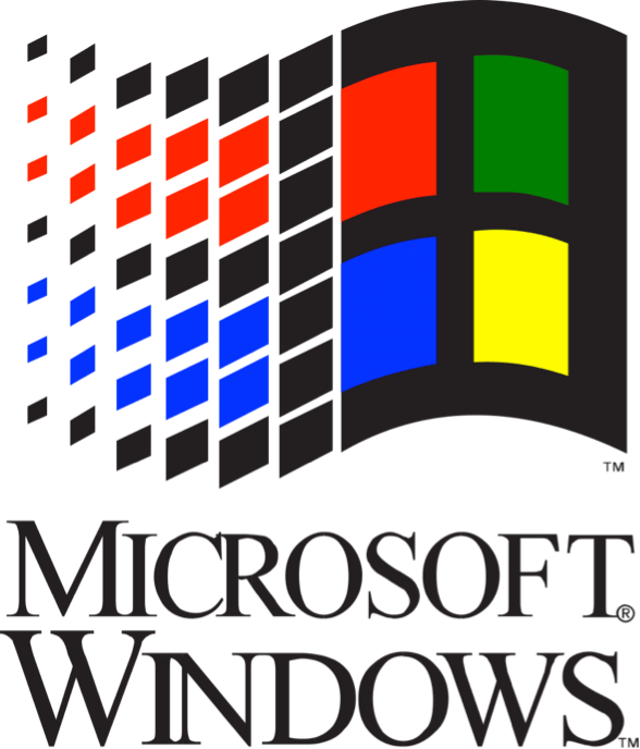 Windows 95 logo png. What can teach you