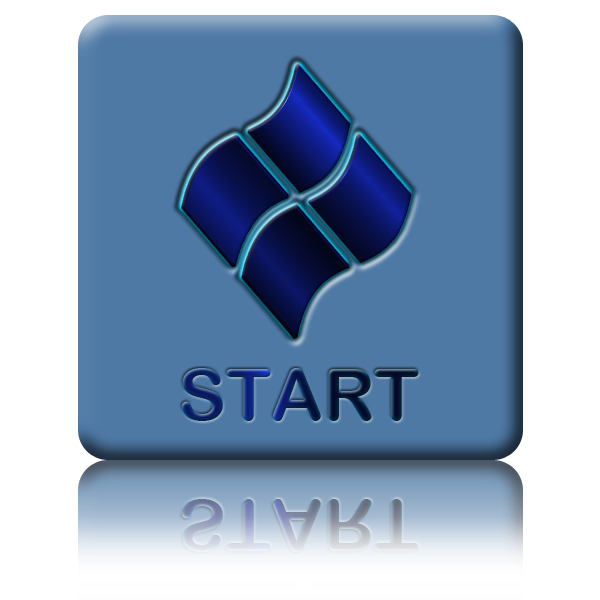 windows 7 start menu icon png