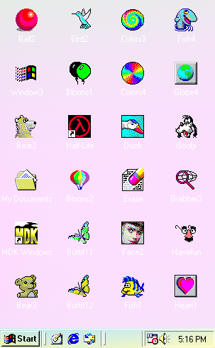 Windows 98 icons png. Tumblr on we