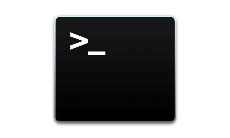 Windows and mac icons png transparent. How to use terminal