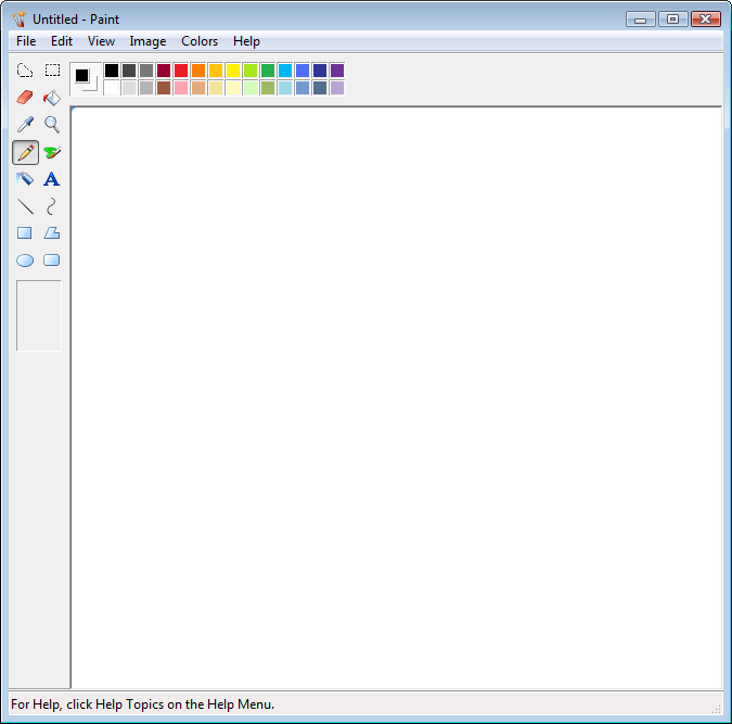 Edit png file in paint. Windows vista ms border