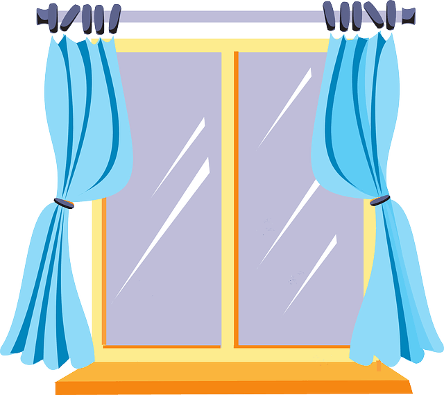 Covering ideas treatments film. Curtains clipart kitchen window banner black and white library