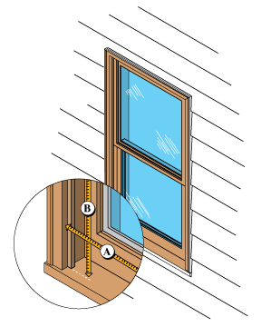 Windows clip hurricane. How to measure for