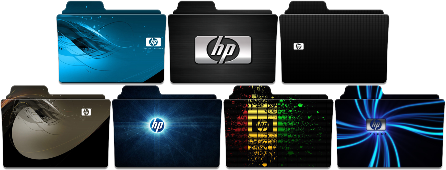Change icon windows 10 png. Hp folder pack by