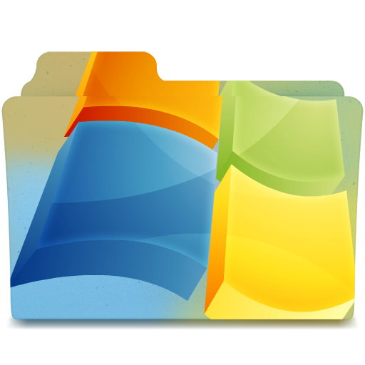 Windows folder png. Icon by andrewisgod on