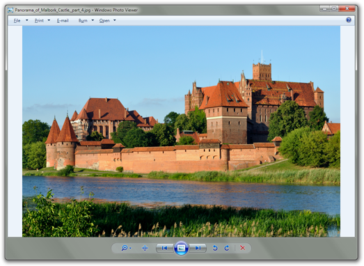 Windows photo viewer png. How to use