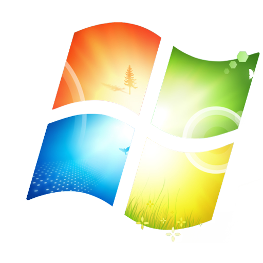 windows 7 start logo png