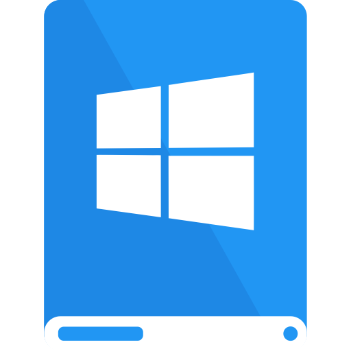 Windows logo png white. Material chromatic drives by