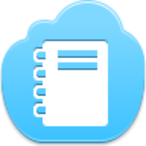 Windows notepad png. Icon free images at