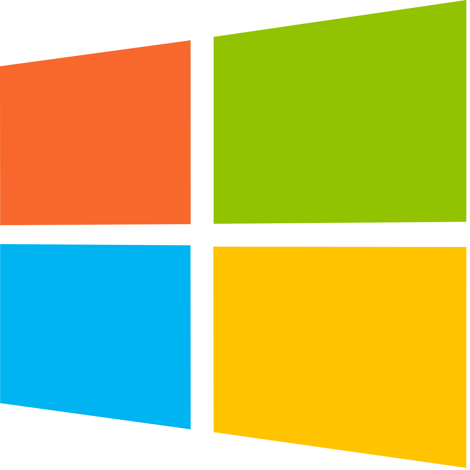 Windows transparent yellow. File logo derivative svg