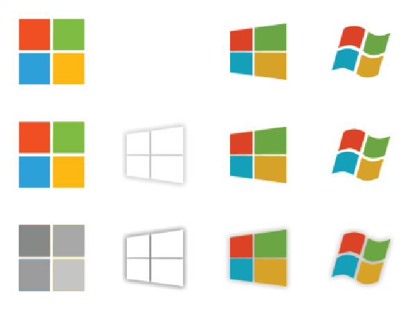 Rotate & Resize Tool: windows 10 start button png