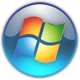 Windows transparent 7. Orb icon by skyangels