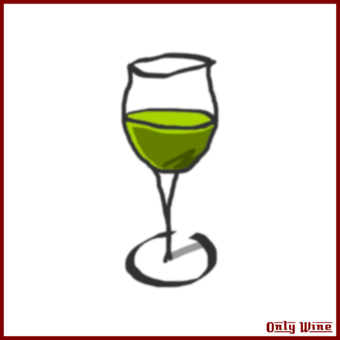 Wine clip goblet. Glass cup crystal free