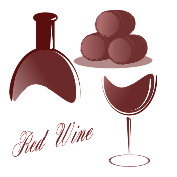 Wine clip nibble. Red wines