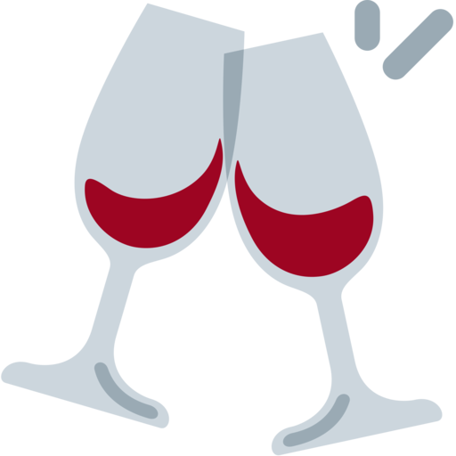 Wine clip two. Toast svg library