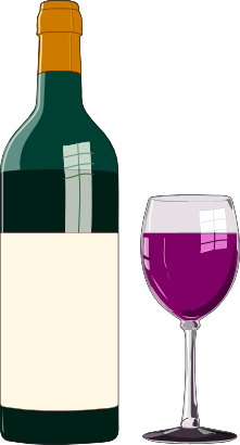 Wine clipart. Free