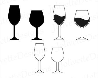 Wine clipart rustic wine. Glass art etsy glasses