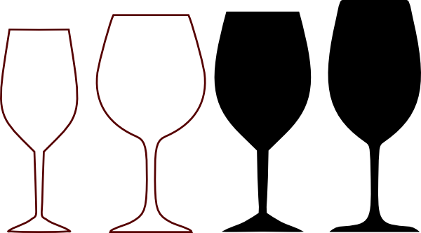 wine glass pour png