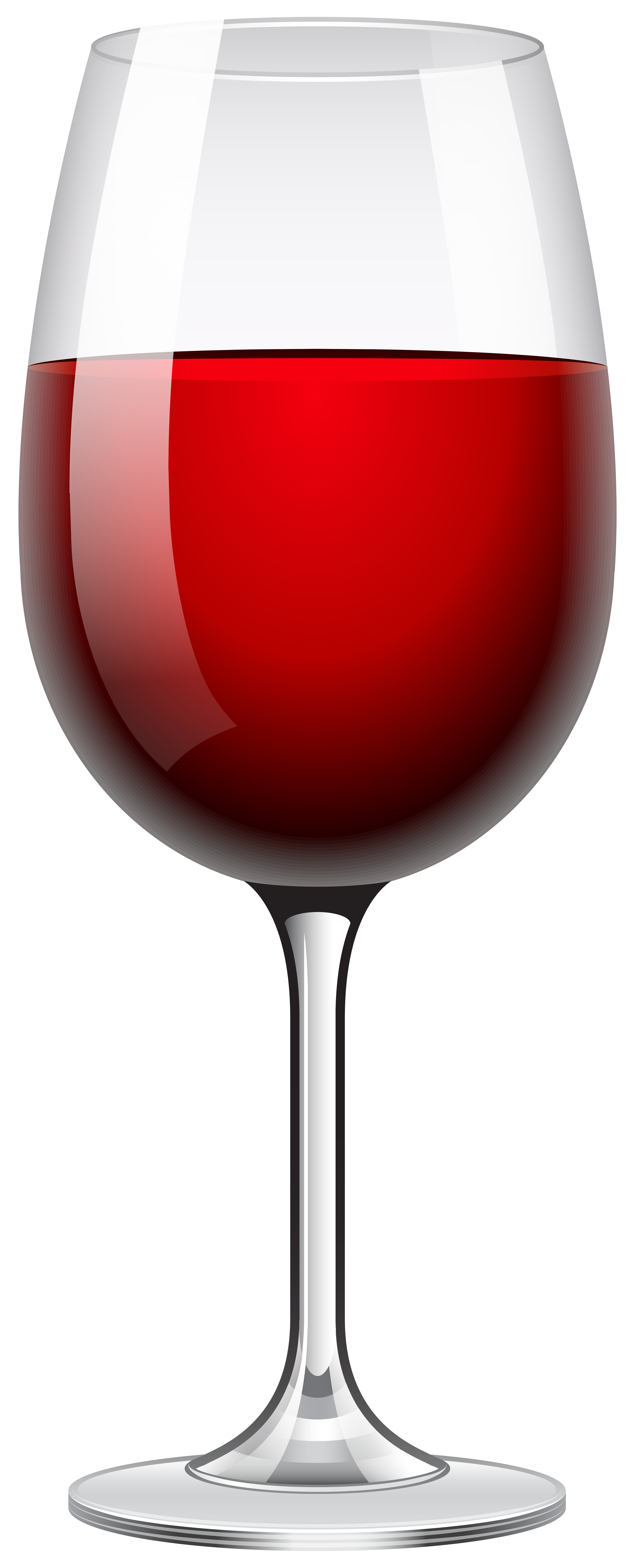 Transparent wine glass png. Red clip art image