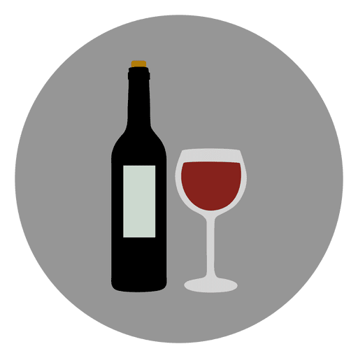 Wine icon png. Glass circle transparent svg