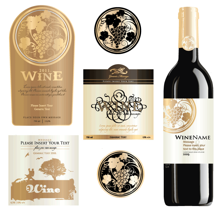Wine labels png. And beverage instabox canada
