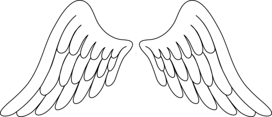 Wing clipart colored wing. Free wings cliparts download