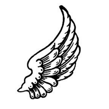 Wing clipart cupid wings. Image of angel clip