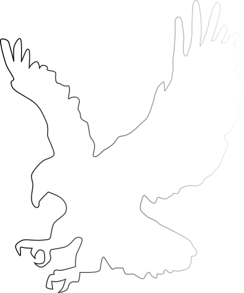Wing clipart eagle. Wings free images clip