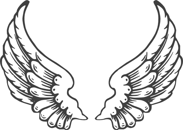 Wings clipart eagle. Free