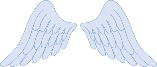 Wing clipart pastel. Baby angel wings
