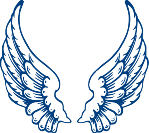 Wing clipart cupid wings. Angel panda free images