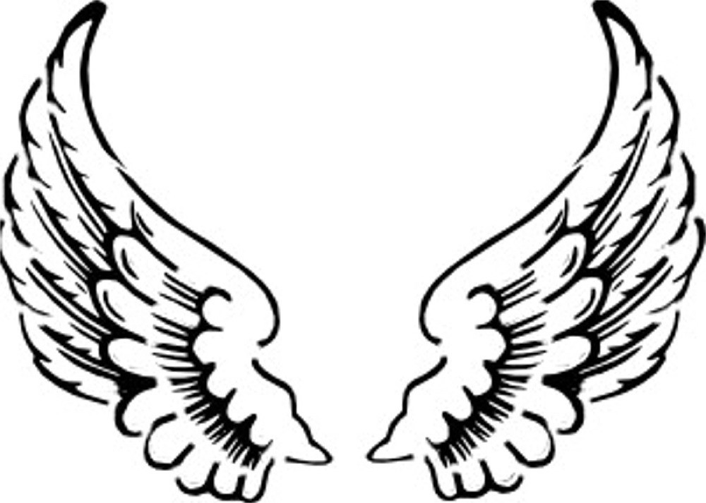 Wings clipart. Angel panda free images