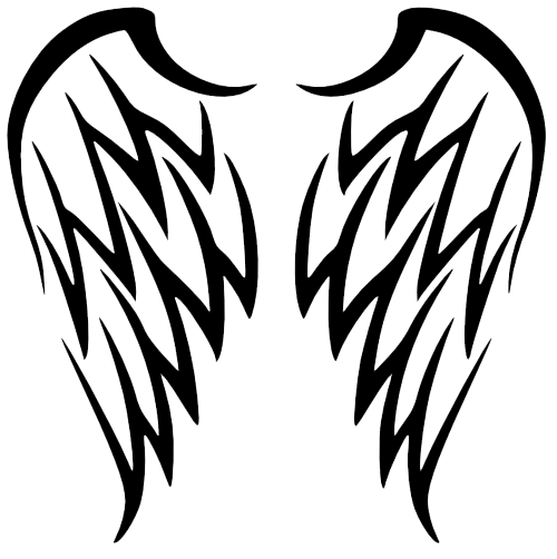 Wing drawing png. Wings tattoos transparent images