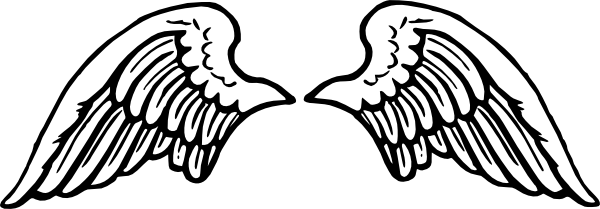 Wing svg. Free vector peterm angel