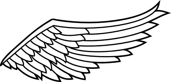 Wing svg. Right wings clip art
