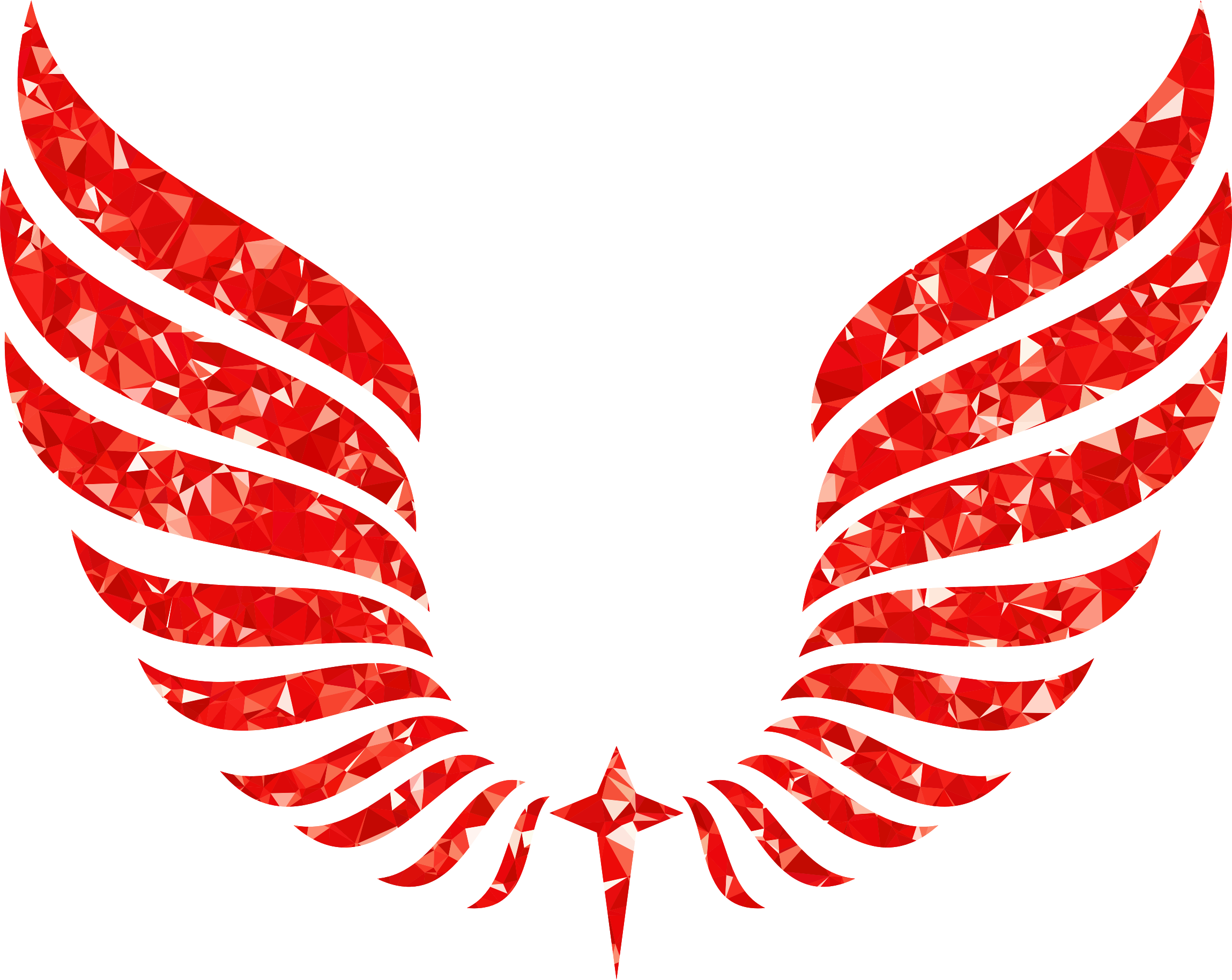 Wing svg abstract. Ruby wings icons png