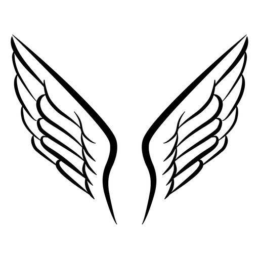 Open vector png. Wing logo transparent svg