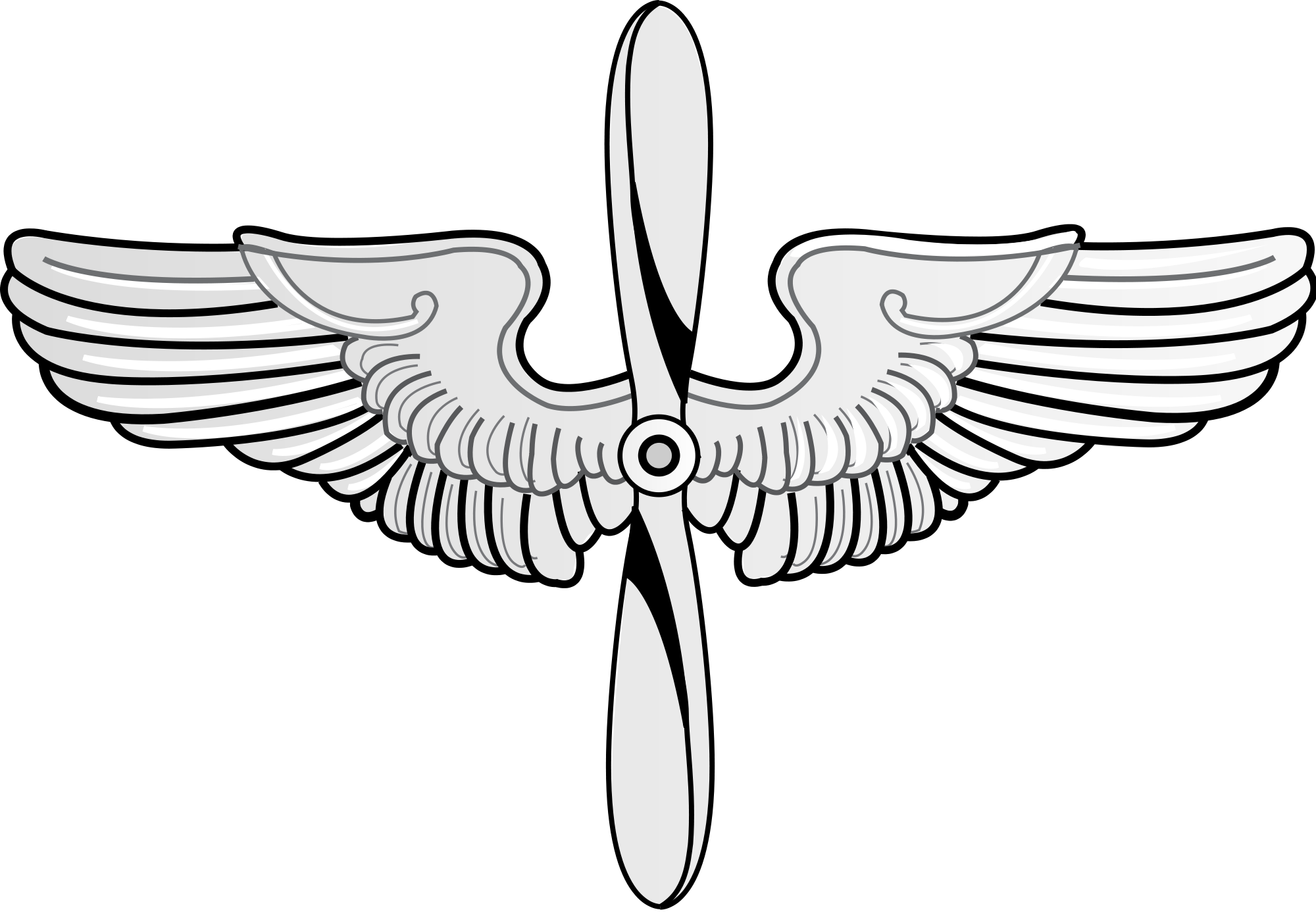 Wing svg military. File prop and wings