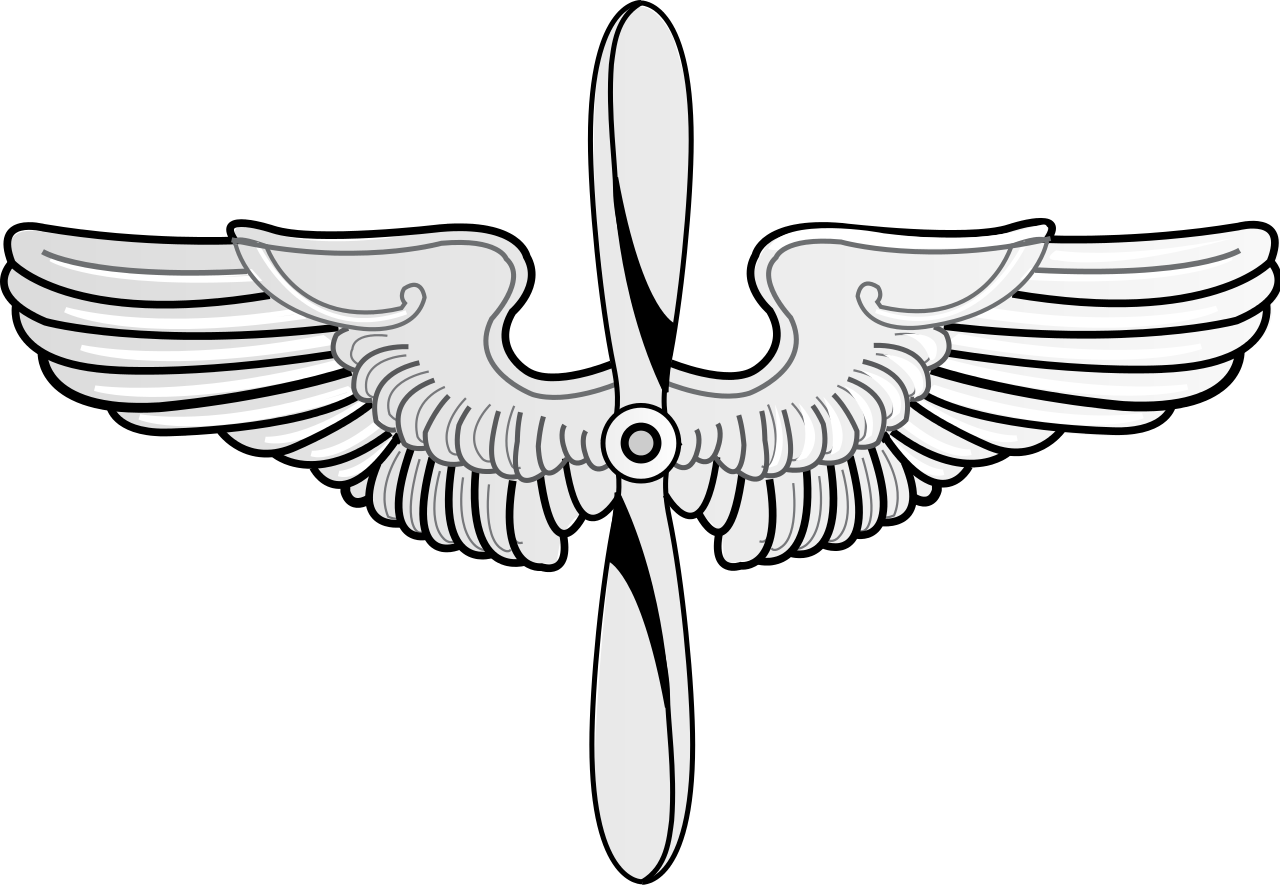 Wing svg vector. File prop and wings