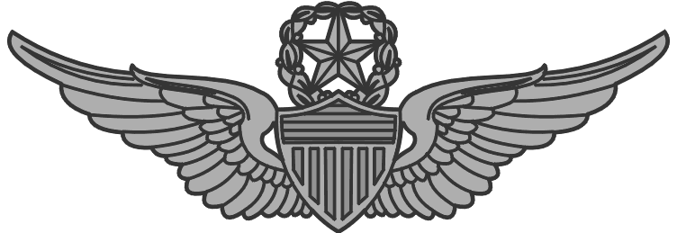 Wings clipart military. Army master aviator clip