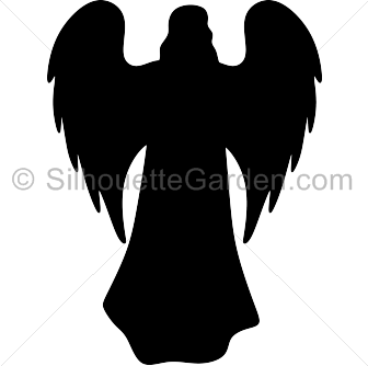 Angel silhouette png. Pin by muse printables